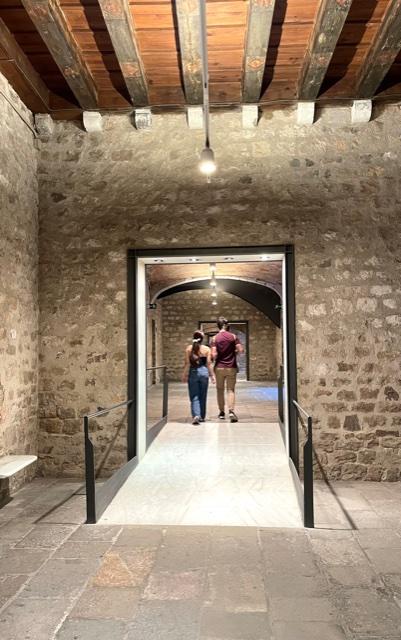 Museu Picasso, Barcelona. Foto Ronald Manrho, 2021, interieur