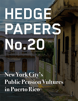Hedge Paper #20 cover