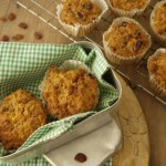 Spiced Carrot & Sultana Muffins