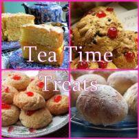 Tea Time Treats Linky Party Logo