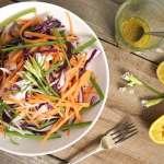 Fennel and Wild Garlic Salad with Mustard Dressing