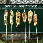 Sweet Chilli Chicken Skewers