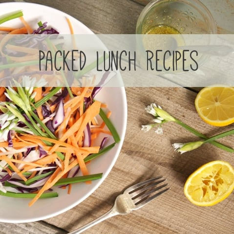 Packed Lunch Recipe Ideas - The Hedgecombers