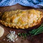 Cheese and Chive Cornish Pasty