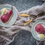 Poached Pears (Naturally Sugar Free)