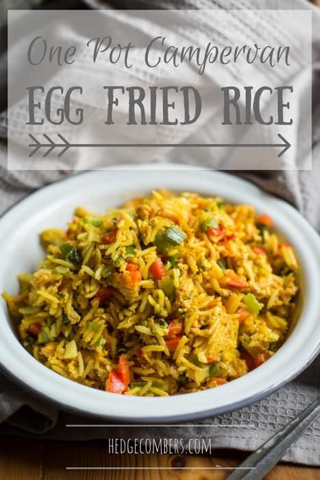 One Pot Campervan Egg Fried Rice Recipe
