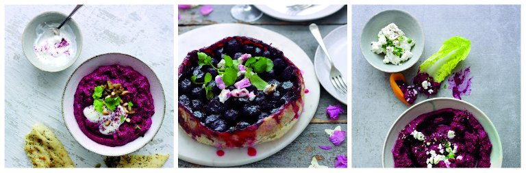 Yummy beetroot dishes