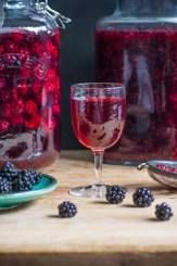 Blackberry Flavoured Vodka