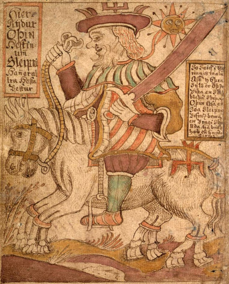 Another cited source for Nine Sacred Herbs from a different tradition was first written about in Lacnunga (Remedies) — an Anglo-Saxon collection of near 200 herbal remedies that dates back to the 10th - 11th century although some of the remedies contained within it are ultimately believed to be significantly older. This source is the first recorded history of the Norse-Germanic version of the Nine Sacred Herbs which details the myth of Odin slaying a giant serpent which, upon killing it, he cut it into nine pieces and scattered them about the Earth each of which grew into one of the Nine Sacred Herbs which were believed to have the ability and properties to cure pretty much any illness. The Nine Sacred Herbs of this myth are especially attributed with the ability to cure infections and be an anecdote to poisons.  -