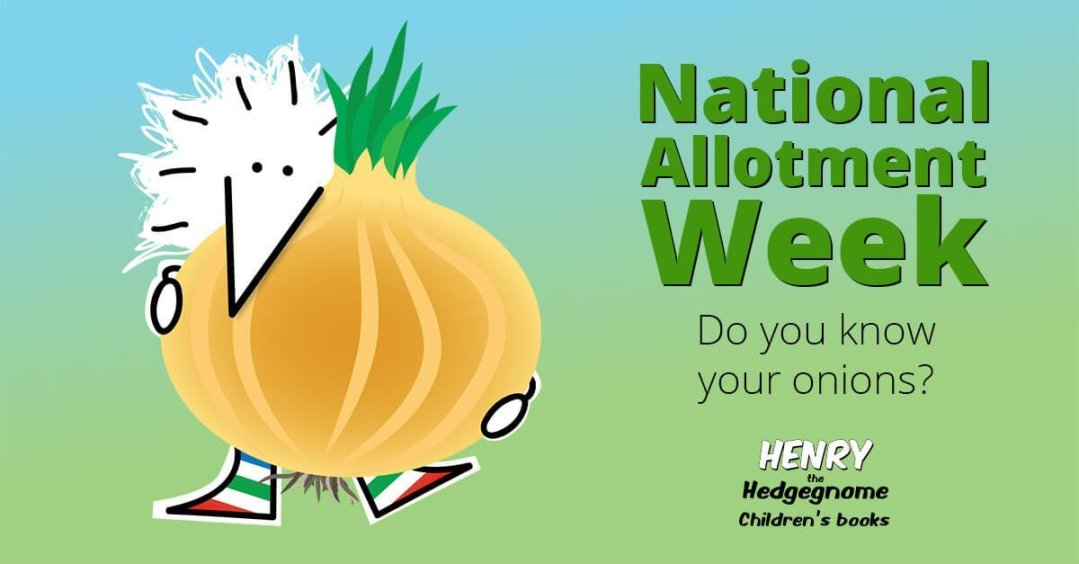 Children's books | Henry the Hedgegnome | Allotment week - onions