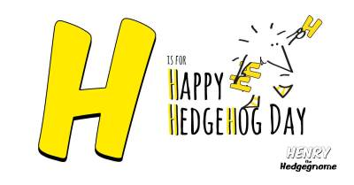 Children's books | Henry the Hedgegnome | H is for Happy Hedgehog Day