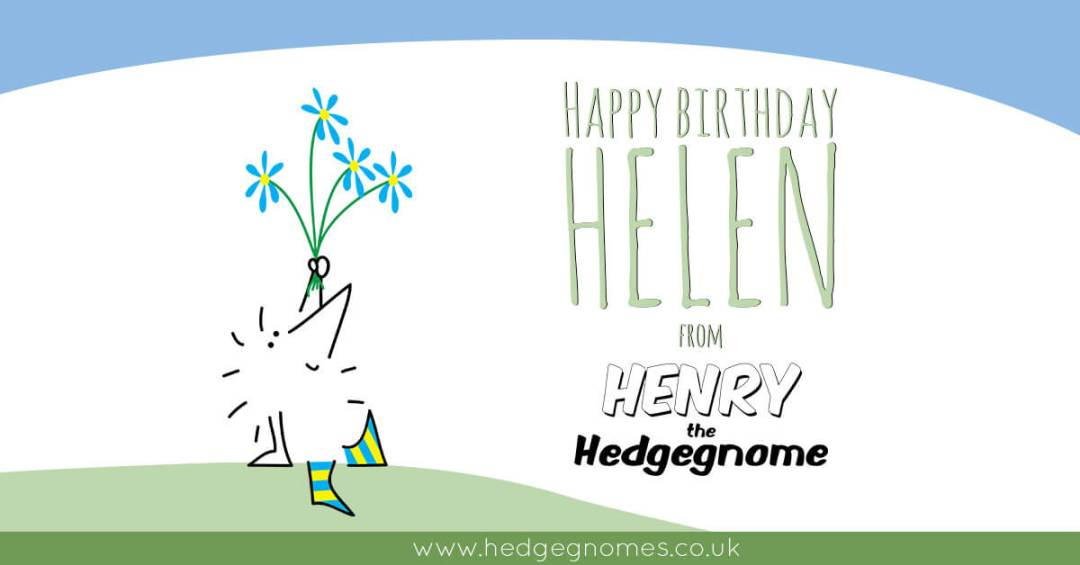 Children's books | Henry the Hedgegnome | Happy birthday Helen