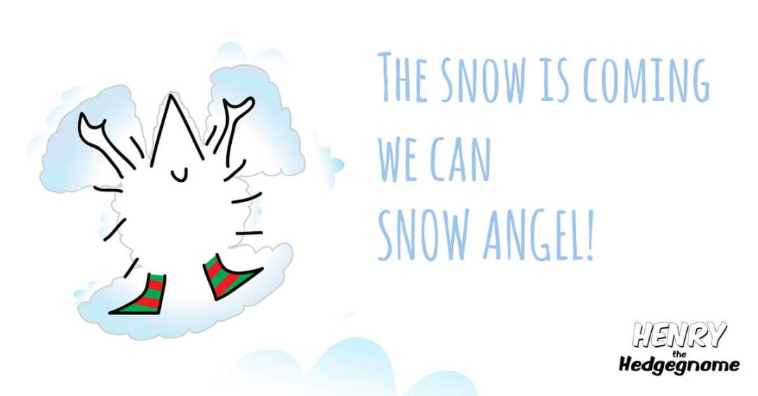 Children's books | Henry the Hedgegnome | Snow angel