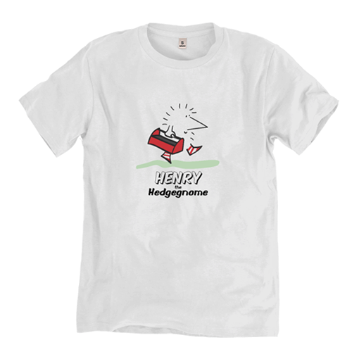 Henry the Hedgegnome - T shirt - Kids