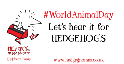 Children's books   Henry the Hedgegnome   World Animal Day