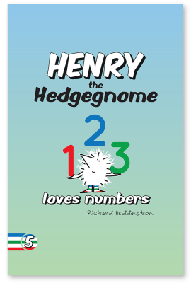 Henry the Hedgegnome loves numbers - Children's book - cover