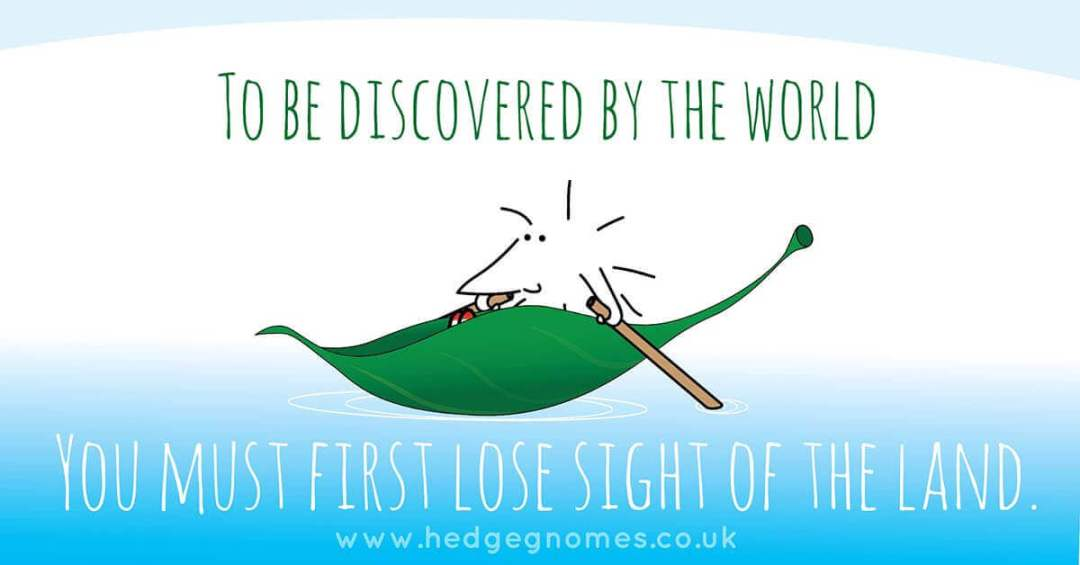 Children's books | Henry the Hedgegnome | Leaf boat - To be discovered by the world
