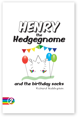 Henry the Hedgegnome and the birthday socks cover