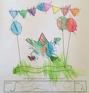 Children's books | Henry the Hedgegnome | Fan gallery pic - Jessica - Aged 3