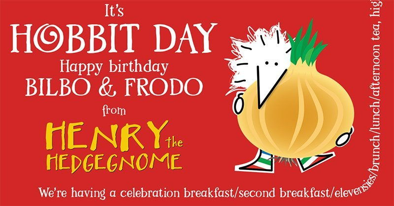 Children's books | Henry the Hedgegnome | Hobbit Day