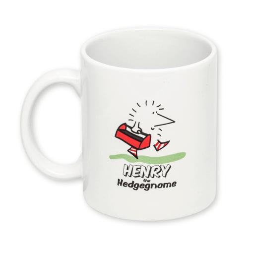Henry the Hedgegnome mug