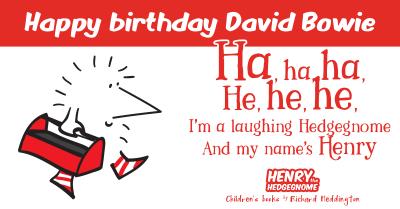 Happy birthday David Bowie - Facebook