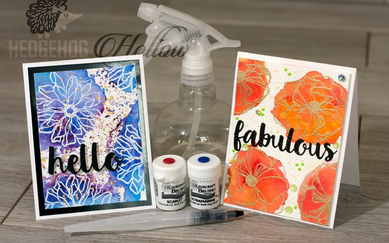 Reverse Stamping with Water