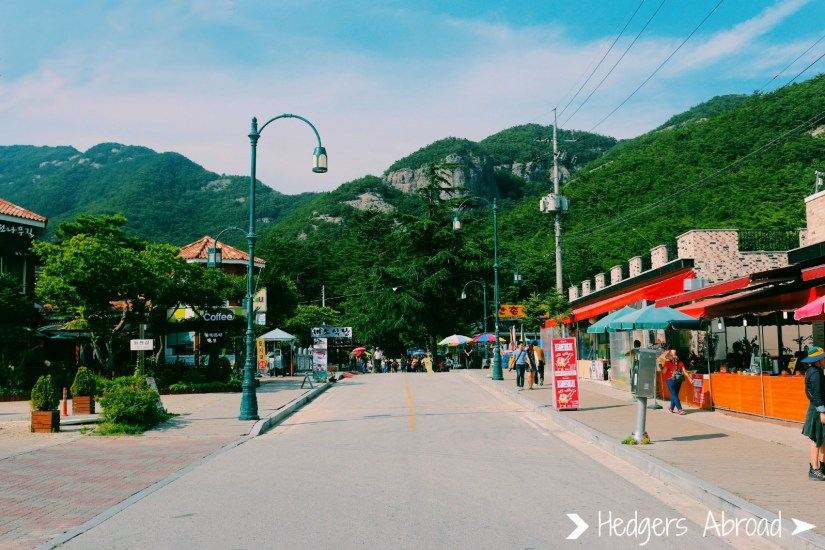 Sleepy little town in Byeonsanbando National Park