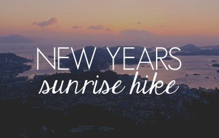 New Year's Sunrise Hike // KOREA