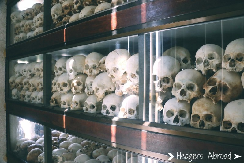 The skulls of the dead