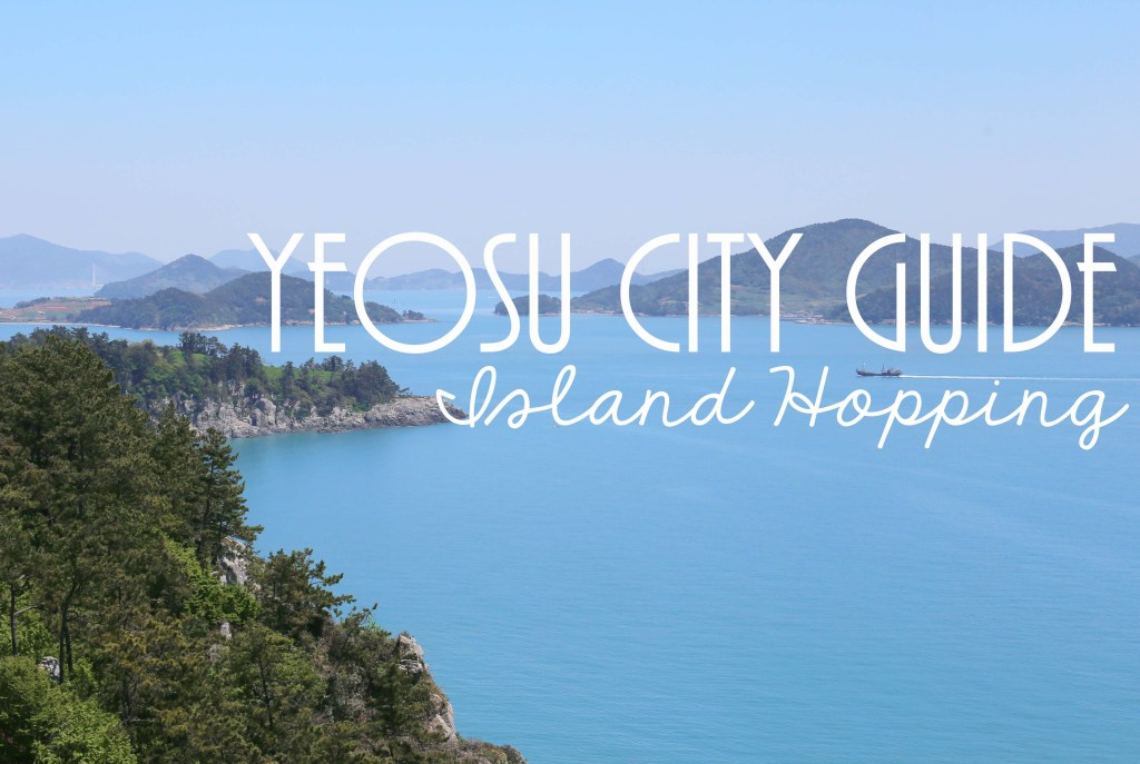 Yeosu City Guide Islands Cover
