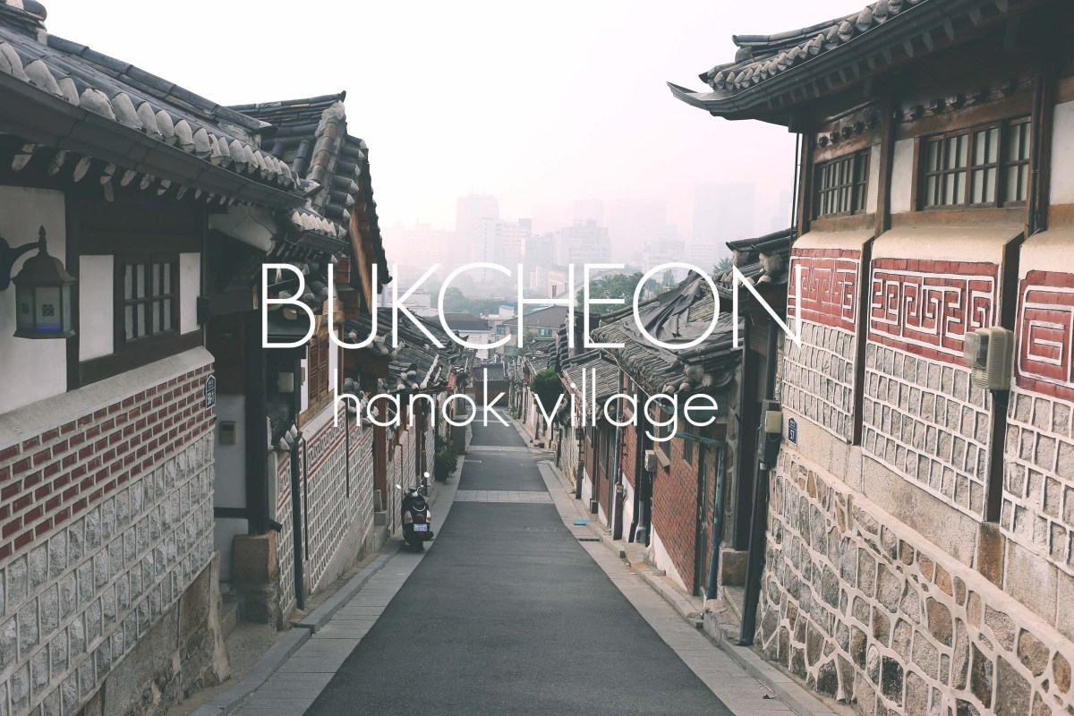 bukcheon cover