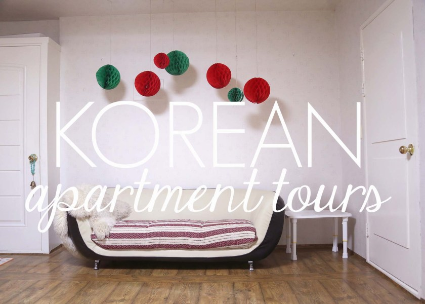 Korean Apartment Tours