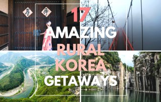 17 Amazing Rural Korea Getaways // KOREA
