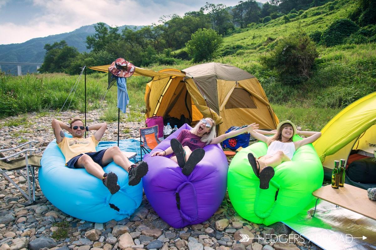 Korean Guerilla Camping