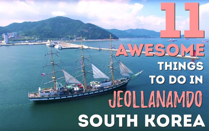 11 Awesome things to do in Jeollanamdo