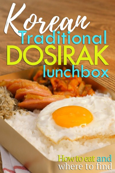 Dosirak Lunchbox How to Eat and Where to Find