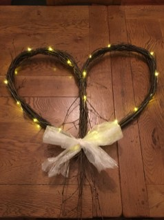 Twinkling Birch Heart