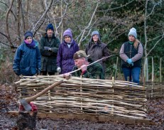 Wattle Hurdle Making Courses