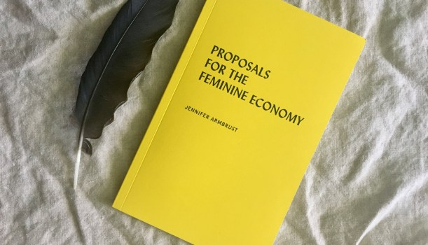 Spellbook Saturday: Proposals for the Feminine Economy