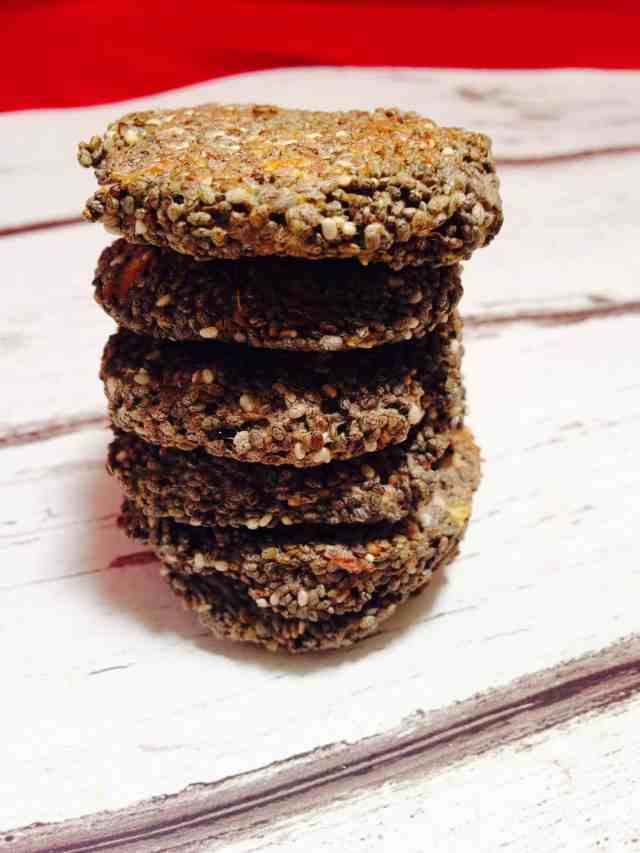 chia and flax seed biscuits 2