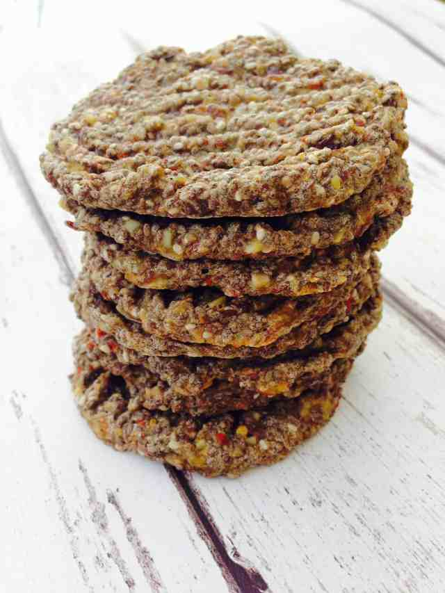 chia and flax seed biscuits 6