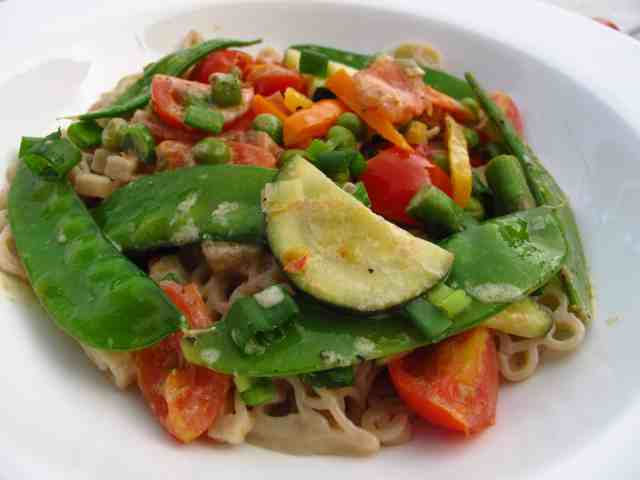 Healthy creamy pasta recipe 7