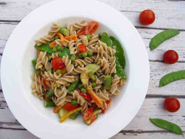 Healthy creamy pasta recipe