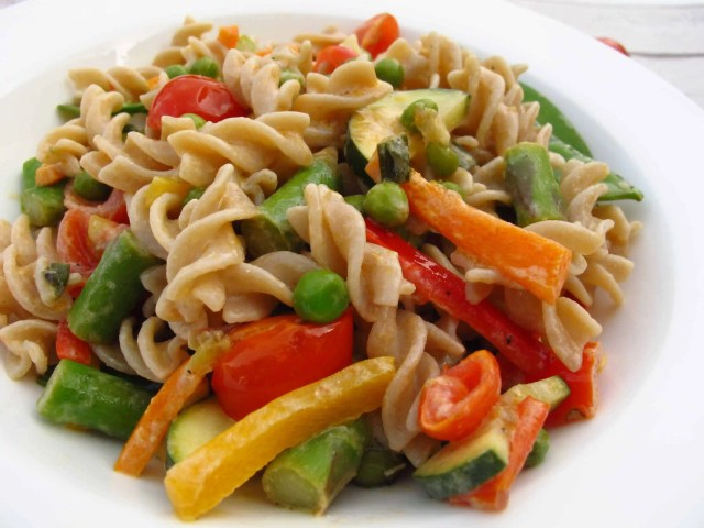 Healthy creamy pasta recipe 2