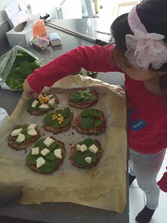 Mini cauliflower pizzas recipe 5