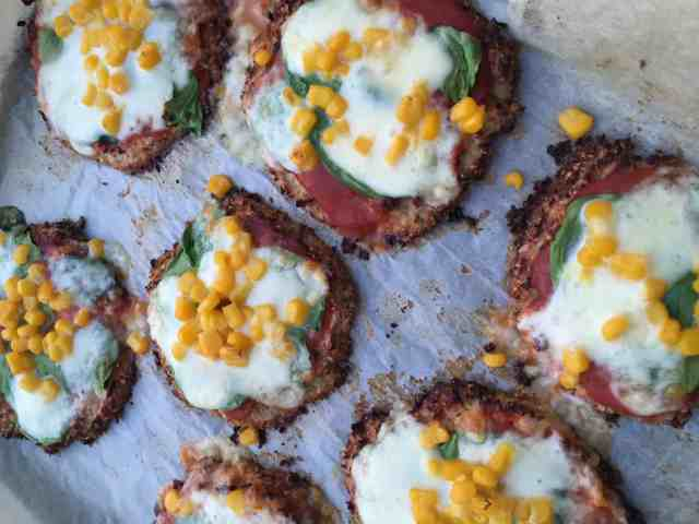 Mini cauliflower pizzas recipe 7