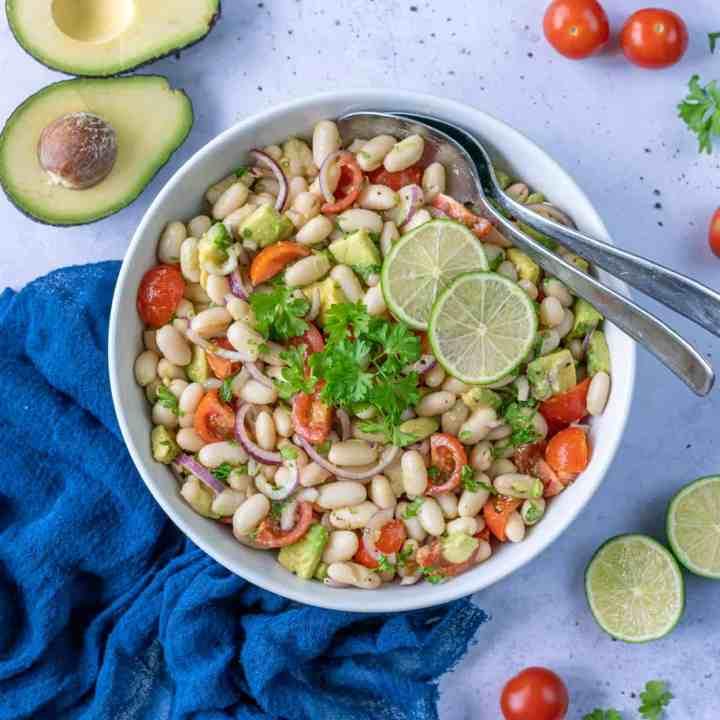 Healthy White Bean Salad
