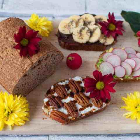 Clean eating wholemeal bread recipe