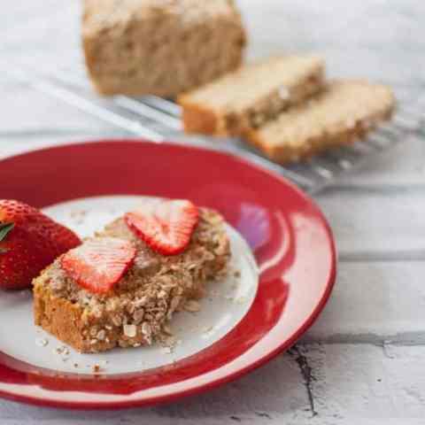 Clean eating oat bread